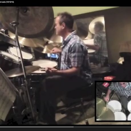 "Sessions from the Atelier: ""It Could Happen"" – Drum solo (10/13/13)"